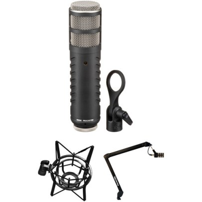 Rode Procaster Broadcast Microphone Studio Kit Dynamic Recording Microphones Rode