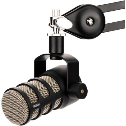 Rode PodMic Dynamic Podcasting Microphone Audio Wired Shotgun Mics ENG/EFP Rode
