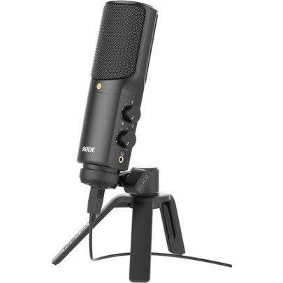 Rode NT-USB USB Microphone Large Diaphragm Recording Microphones Rode