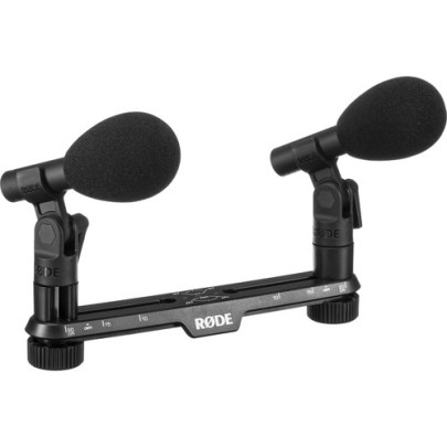 Rode TF-5 MP Cardioid Condenser Microphones with Stereo Mount (Black, Matched Pair) Modular Microphone Components Rode