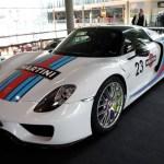 Porsche 918 Spyder in Martini-Design