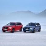 VOLVO, XC90 D5 AWD Signal Red, XC90 T8 Twin Engine Bursting Blue Metallic