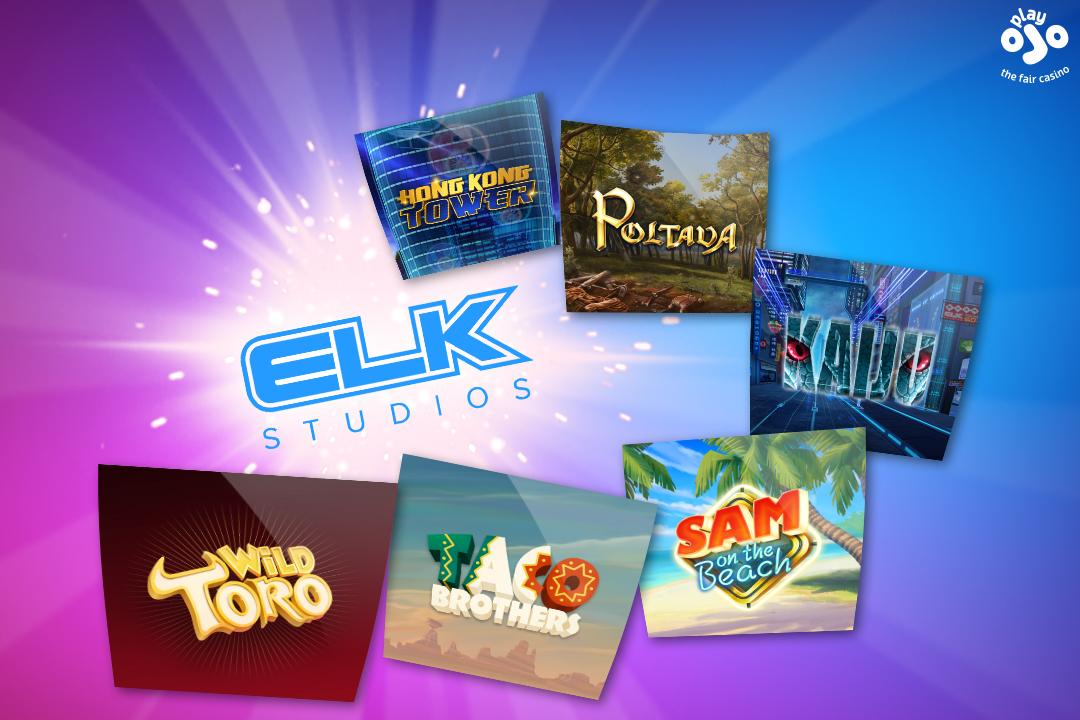 Elk Games at PlayOJO