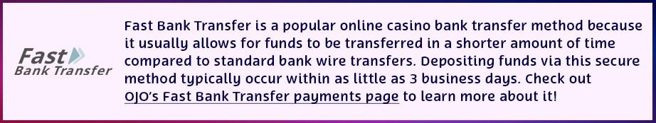 ojo fast bank transfer