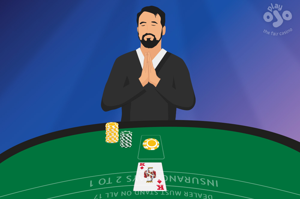 play zen when you are in a blackjack table