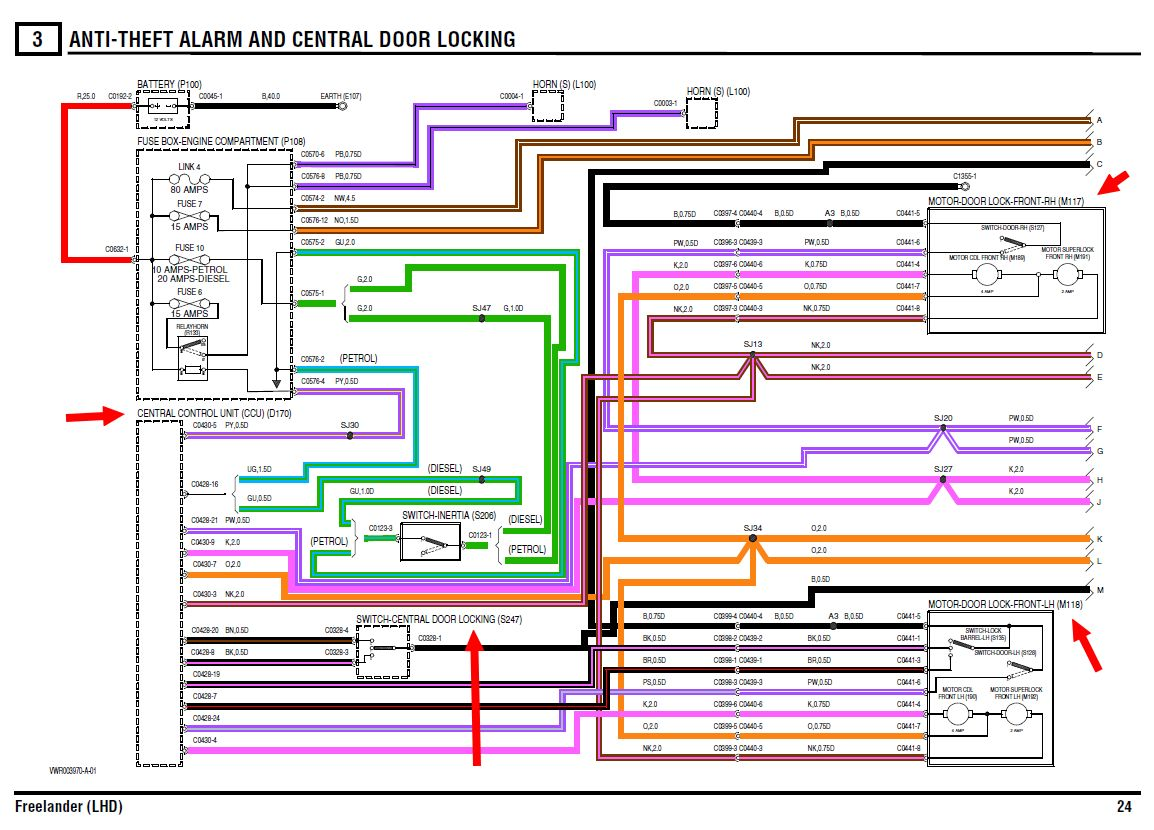 Land rover discovery 3 wiring diagram  wiring online
