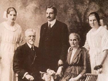 Frank Henry Westphal e sua família