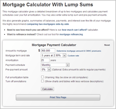The Benefits of CanEquity's Mortgage Calculator - Mortgage ...