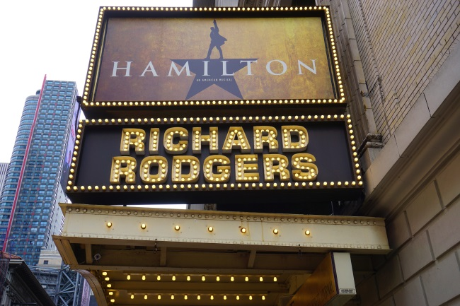 Image result for hamilton new york broadway