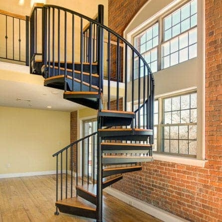 Our Spiral Staircase Products Materials Paragon Stairs   Spiral Staircase Into Basement   Stair Railing   Attic Stairs   Stair Treads   Stairway   Staircase Ideas
