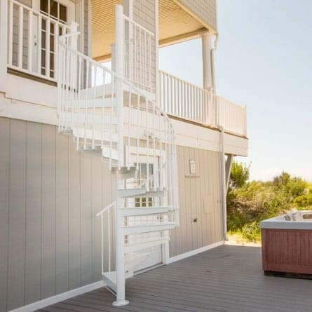 Spiral Staircases For Decks Patios Paragon Stairs | Spiral Deck Mate Stair | Powder Coated | Stair Treads | Staircase Kits | Trex Spiral | Stair Case