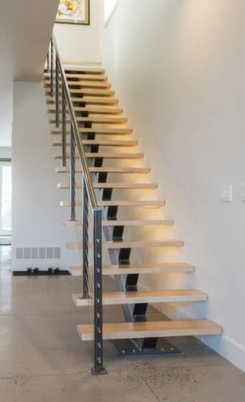 Compact Stairs For Small Spaces Paragon Stairs   Minimum Space For Spiral Staircase   Stair Treads   Building Regulations   Design   Space Saving   Tread Depth