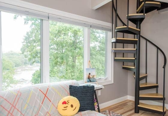 Tiny House Spiral Stairs Paragon Stairs   Staircase Designs For Small Homes   Cool   Railing   Smart   Retractable   Cupboard