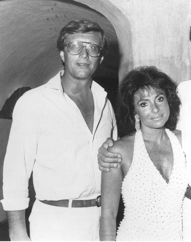 Maurizio and Pat Gucci
