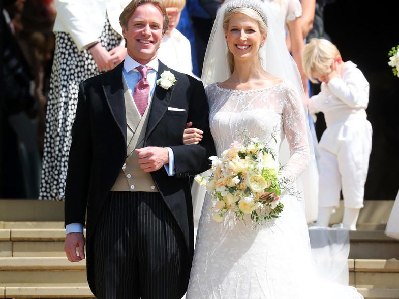 Thomas Kingston Y Lady Gabriella Windsor En El Dia De Su Boda