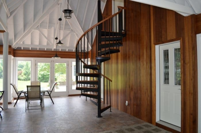 The Complete Attic Conversion Guide Salter Spiral Stair | Spiral Staircase To Attic | Easy | Adding | Stairway | White | Corner
