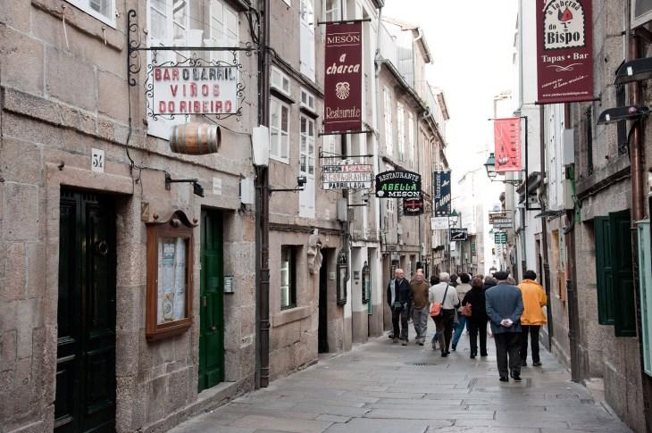 Lo que queda del París-Dakar de Santiago de Compostela