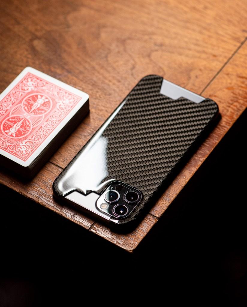 iPhone 12 Pro Max 正 真 碳纖維 保護殼 鍛造 亮面 黑 全包