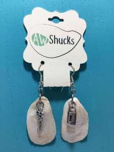 Earrings-Lock&Key1