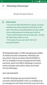 Whatsapp Resmikan Fitur Deskripsi Grup Ini Cara Pakainya