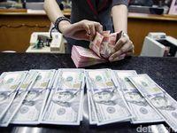 Jokowi Unggul Quick Count, Begini Pertarungan Rupiah vs Dolar AS