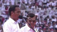 Ikut Dampingi Jokowi di Konser Putih, JK: Persahabatan Seumur Hidup