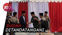 Jokowi ke TNI-Polri: THR Akhir Mei, Gaji ke-13 Juli