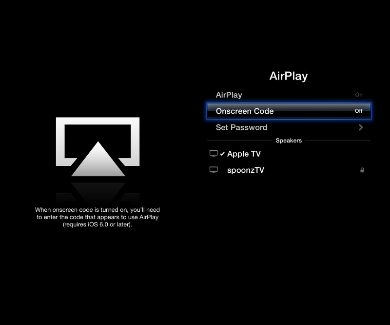 airplay apple tv
