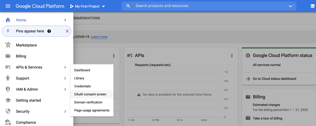 Sign in with Google temporarily disabled for this app
