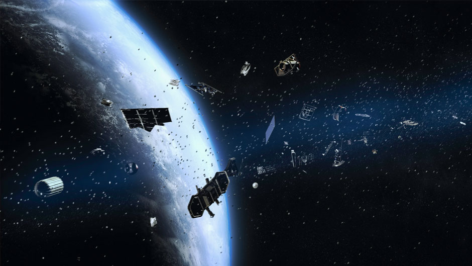 satellite space junk