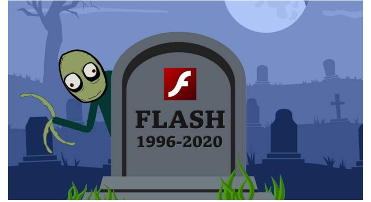 adobe flash 1996 2020