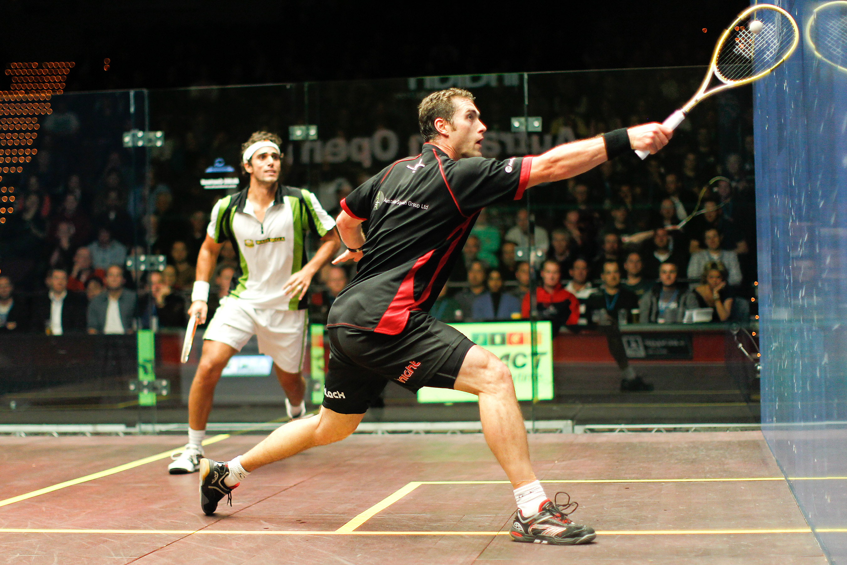 Squash Coaching Blog: Back Up Your Volley