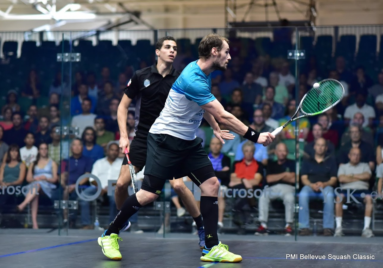 Squash Coaching Blog: Watch The Ball Onto Your Racket