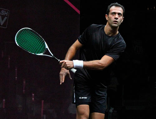 Squash Coaching Blog: The Height Of Your Grip