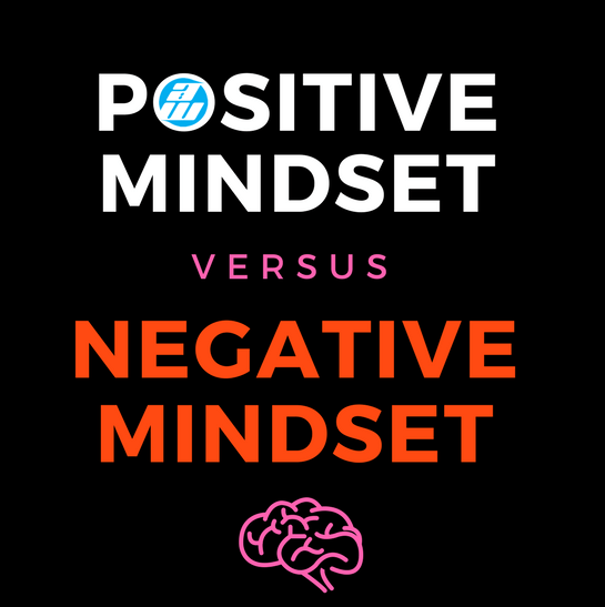 Infographic – Positive Mindset vs Negative Mindset