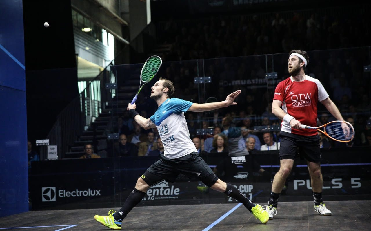 Squash Coaching Blog: Side to side