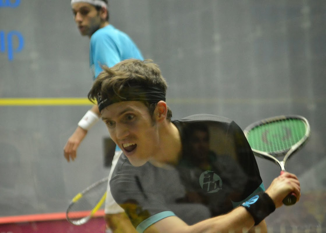 Squash Coaching Blog: Boast from the back corner