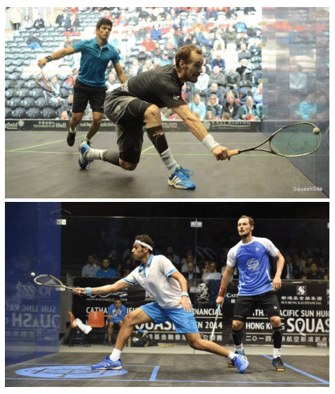Squash Coaching Blog: Returning a tight shot