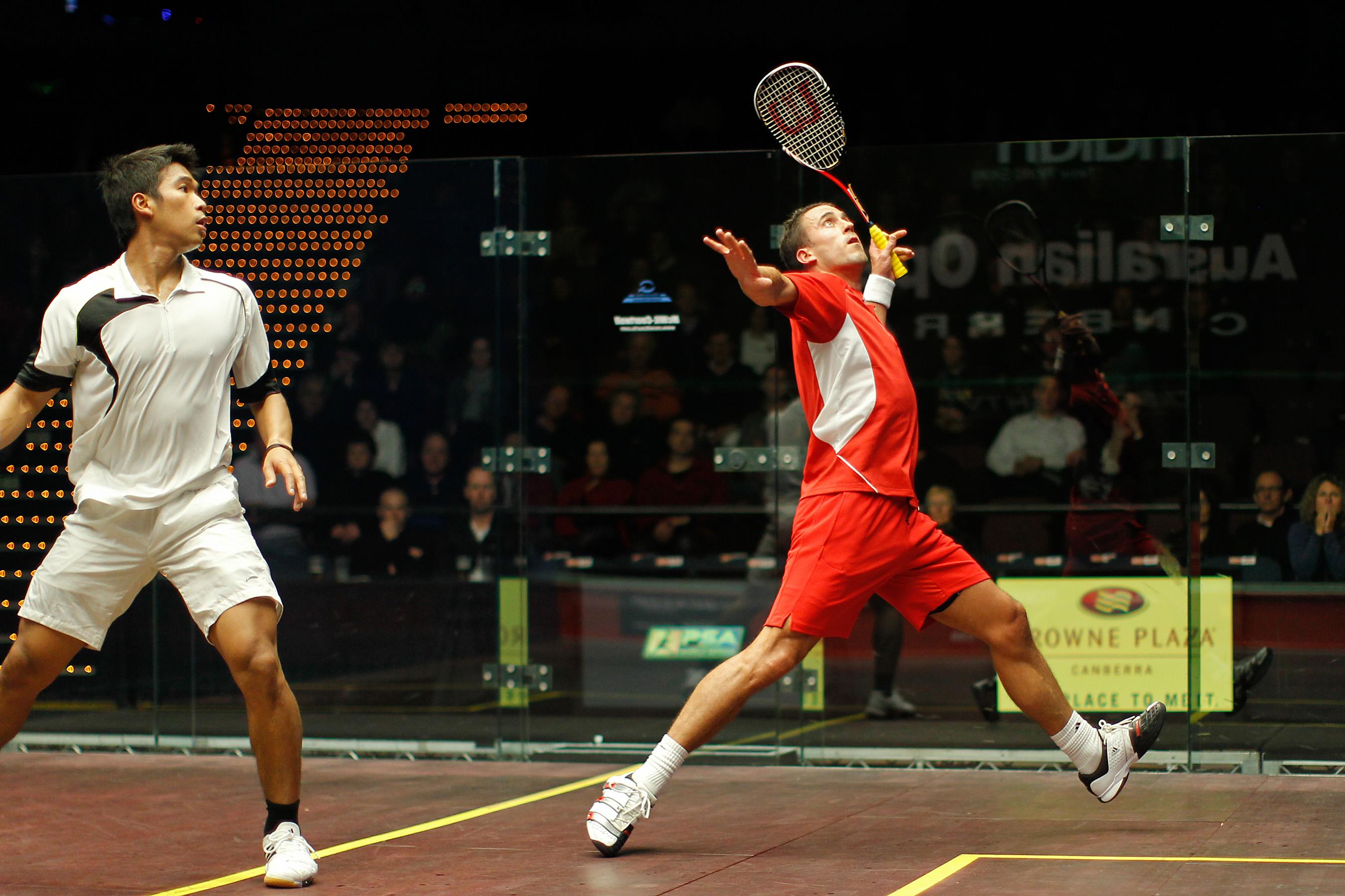 Squash Coaching Blog: What shot to play after a lob