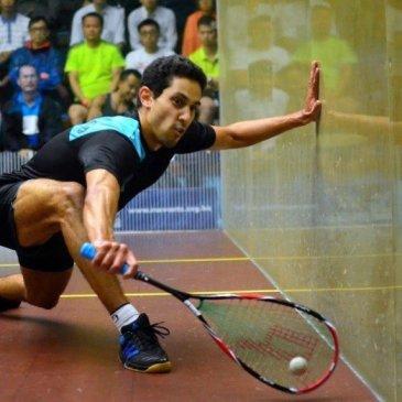 Squash Coaching Blog: The counter drop under pressure
