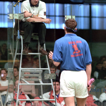 Squash Coaching Blog: Adapting to different conditions