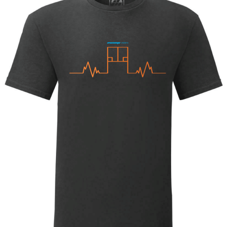 Pulse Court T-Shirt Orange