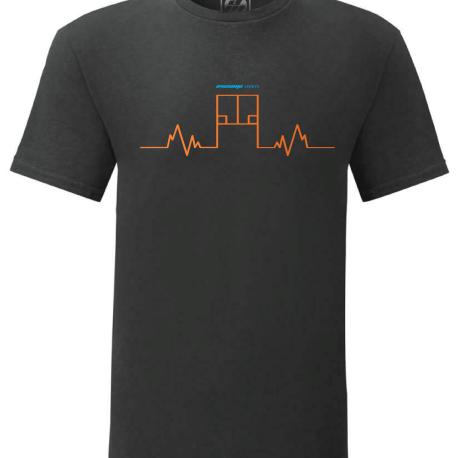 Pulse Court T-Shirt Orange