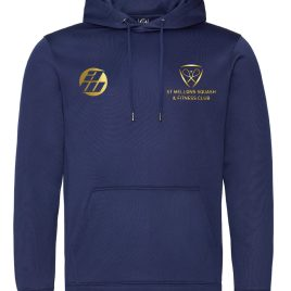 St Mellons Navy Cosy Hoodie (Junior and Adult Sizes)