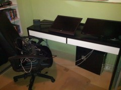 Gaming Station in pieces