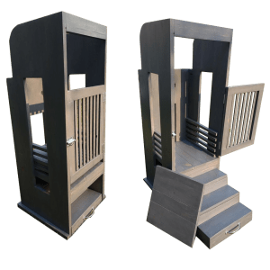 Learning Tower Open and Closed Movable Platform and 3 Extended 3 Step Model
