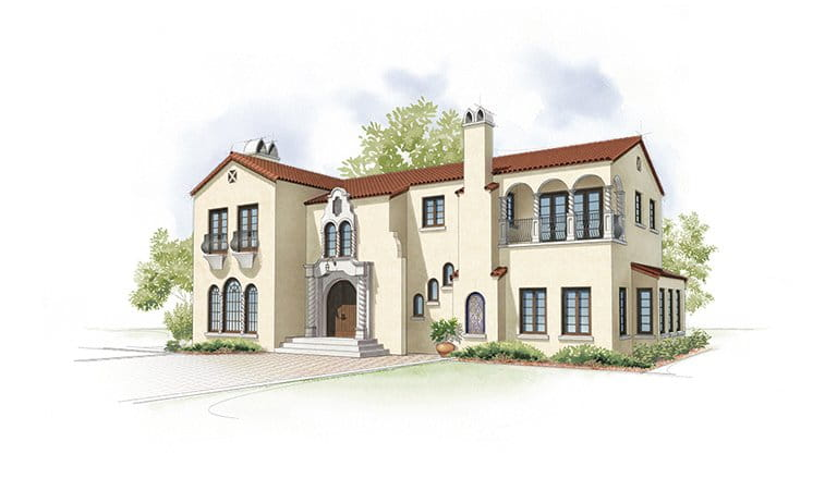 Spanish Colonial Home Style