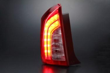 オリジナル30系プリウスレッドテールランプ全灯化