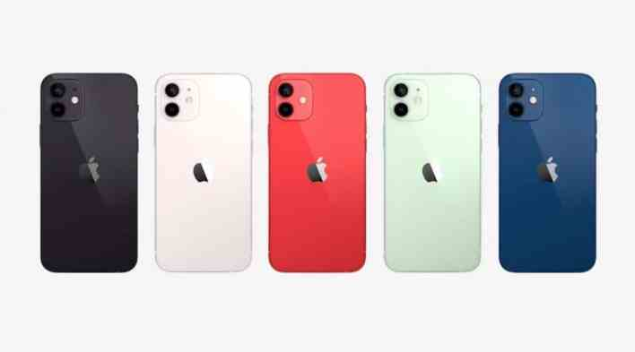 iphone coloris