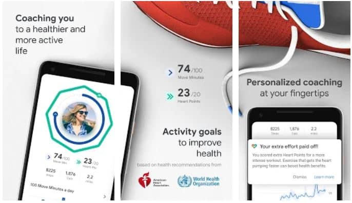 Google Fit Health and Activity Tracking Apps on Google Play